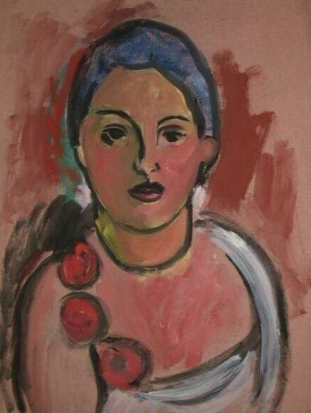 Anna Walinska, 'Woman with Roses', 1931