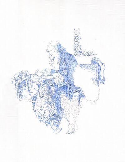 Nina Papaconstantinou, 'Man II, GabrielMetsu', 2014