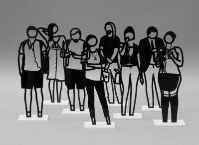 Julian Opie, 'Boston Statuettes', 2020