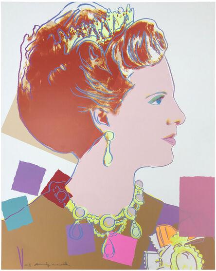 Andy Warhol, 'QUEEN MARGRETHE II OF DENMARK FS II.344', 1985