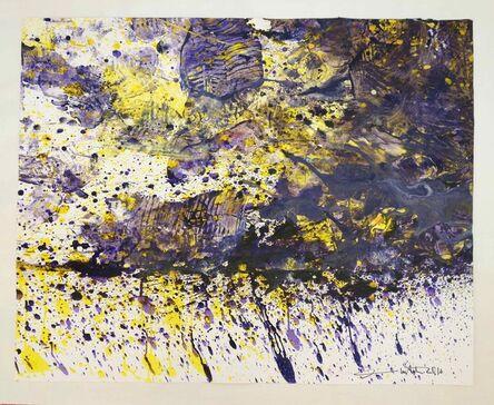 Hermann Nitsch, 'Papierarbeit', 2016
