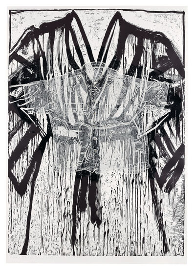 Jim Dine, 'Shirt and Buttons', 2019
