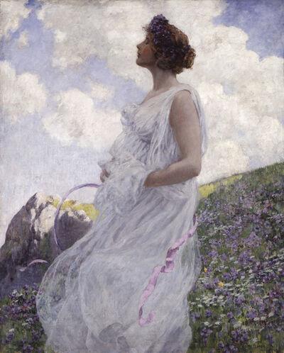 George Hitchcock, 'Calypso', 1913