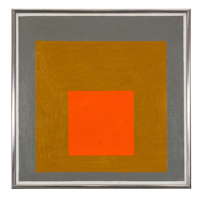 Josef Albers, 'Homage to the square', 1961