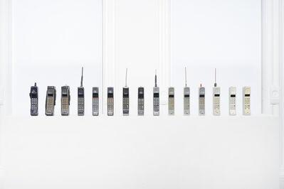 Luis Molina-Pantin, 'Untitled (15 Brick Mobile Phones)', 2011
