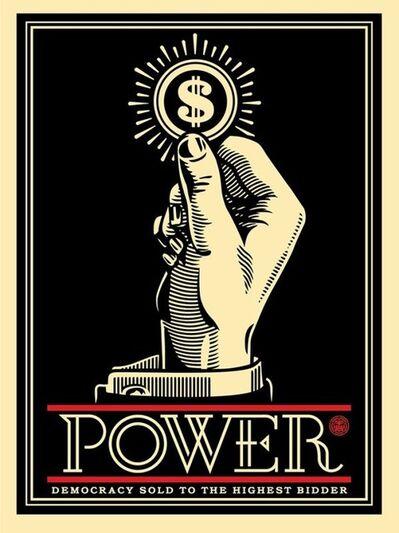 Shepard Fairey, 'Power Bidder', 2015