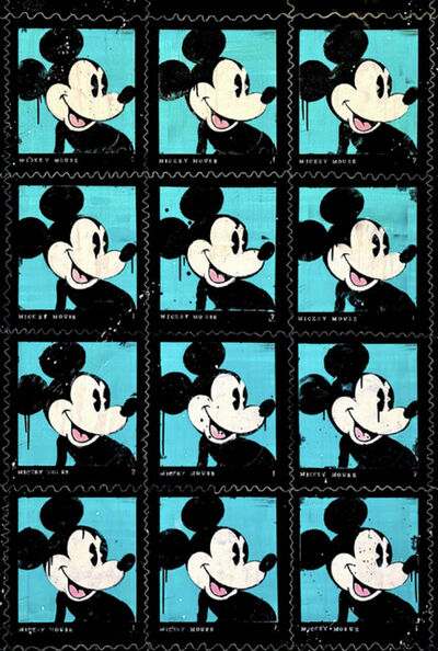 STEVIE CHOW, 'Postage Stamps #1', 2021