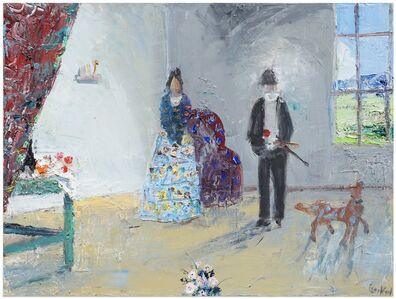 John Bradford, 'Hortense and Paul Cézanne', 2018