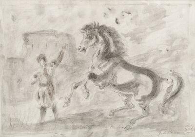 """Giorgio de Chirico, '""""Untitled (Horses)""""', 1965"""