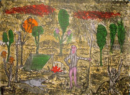 Roy De Forest, 'The Campfire', 1993