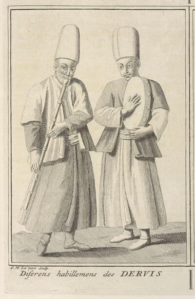 Bernard Picart, 'Various Attire of the Dervish', 1723-1743