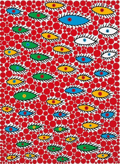 Yayoi Kusama, 'Eyes Flying in the Sky', 2006