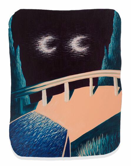 Eliot Greenwald, 'Night Car (Bend)', 2020