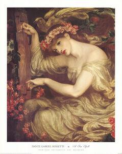 Dante Gabriel Rossetti, 'A Sea Spell', 1996