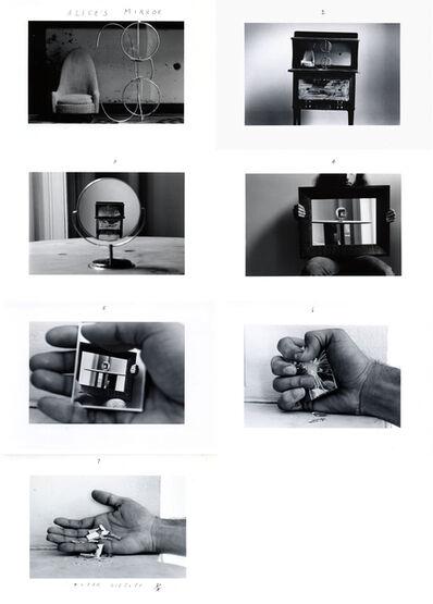 Duane Michals, 'Alice's Mirror', 1974