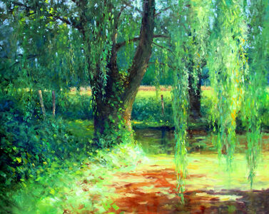 Thomas McNickle, 'WILLOW POND-COFFEE TIME', 2020