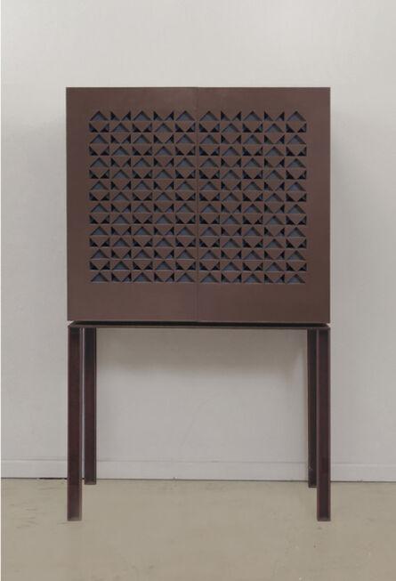 Pilar Climent, 'Lattice Cabinet'