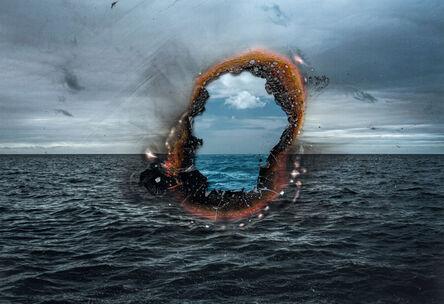 Ingrid Weyland, 'Eye of Fire I - Topographies of Fragility', 2021