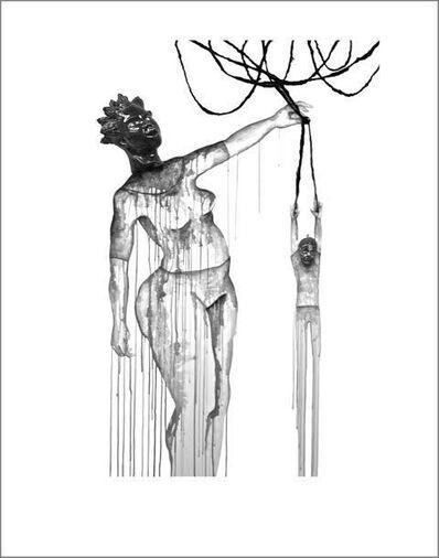 Aisha Tandiwe Bell, 'Kinky, a noted Tangle Slinger', 2015