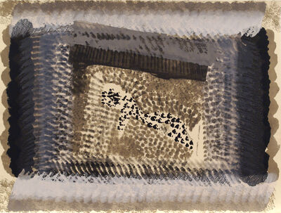 Howard Hodgkin, 'One Down', 1982