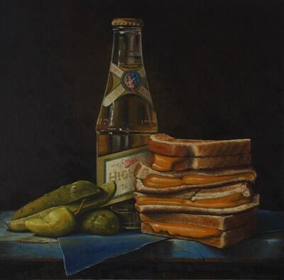 Hickory Mertsching, 'Grilled Cheese High Life', 2019