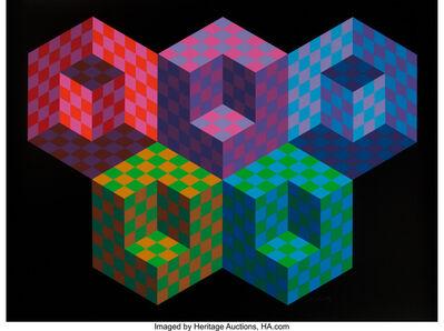 Victor Vasarely, 'Hexa 5', 1988