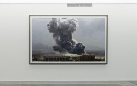 Thomas Ruff, 'Jpeg bb01. Bahdad Bombing', 2004