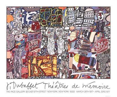 Jean Dubuffet, 'Theatre De Memoire', 1977