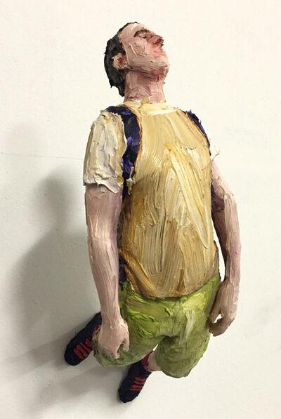 Louis Pratt, 'Figure II - wall work'