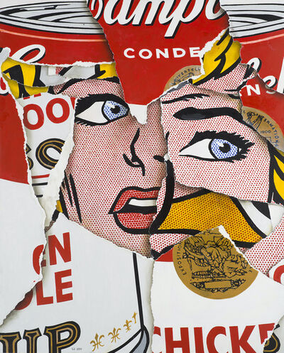 Cesar Santander, 'Soupcan Girl Two', 2020