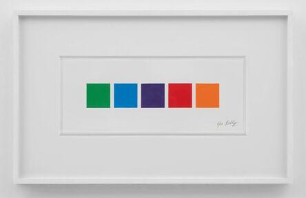 Ellsworth Kelly, 'Color Squares 3', 2011
