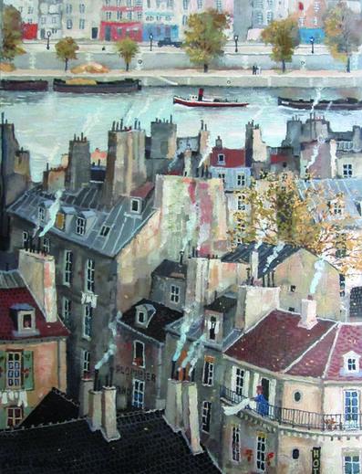 Michel Delacroix, 'Vue sur la Seine', 2016