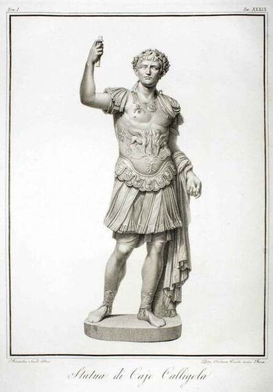 Pietro Fontana, 'Statue of Calligola', 1794