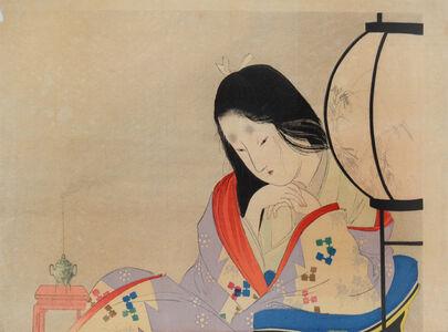 Tomioka Eisen, 'Wife's Heart', 1901