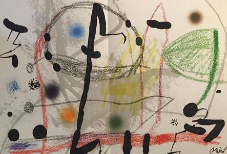 Joan Miró, 'Maravillas con Variacones en El Jardin de Miró', 1975