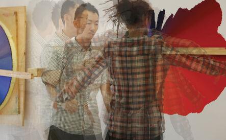 Olafur Eliasson, 'Superimposed video stills from the Movement microscope', 2011