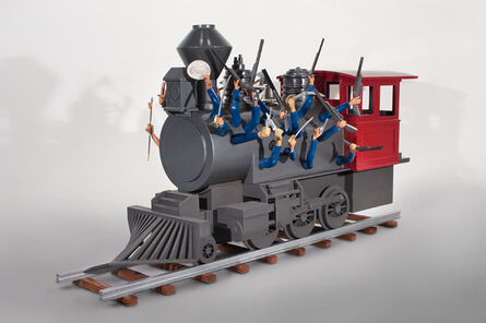 Esteban Blanco, 'Wild West Train', 2012