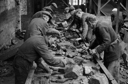 John 'Hoppy' Hopkins, 'Miners, Kinglassie Colliery, Scotland', ca. 1963