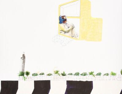 Ruby Onyinyechi Amanze, 'Growable walls and keke doors (galaxies hover over roadside nurseries)', 2015