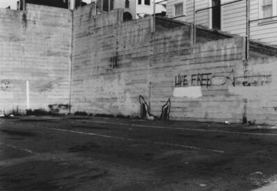 Arabella Colton, 'Wall Dog Ears — Live Free, Fresno Alley, San Francisco 1992 ', 1992