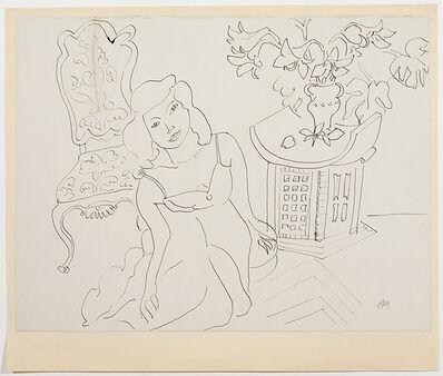 Henri Matisse, 'Girl in an Interior', 1941