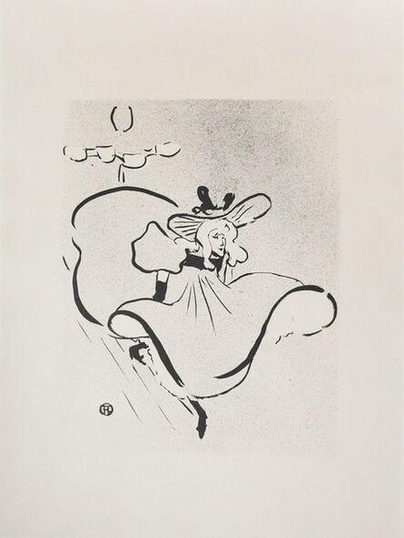 Henri de Toulouse-Lautrec, 'Jane Avril ', 1893