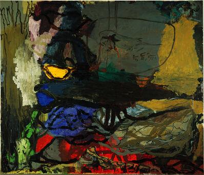Per Kirkeby, 'Nach der Abnahme', 1988