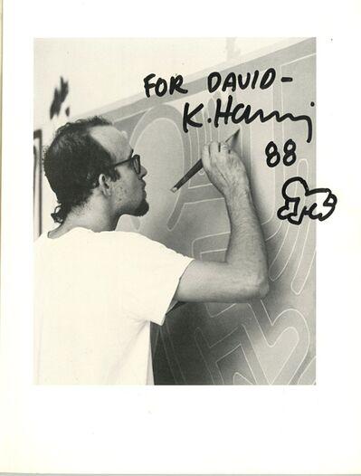 Keith Haring, 'Original Radiant Baby Drawing', 1988