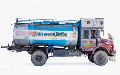 Martin Roemers, 'Tata 1612 water tanker, Truck driver Radhesham Jat (Bhilwara, Rajasthan)', 2019