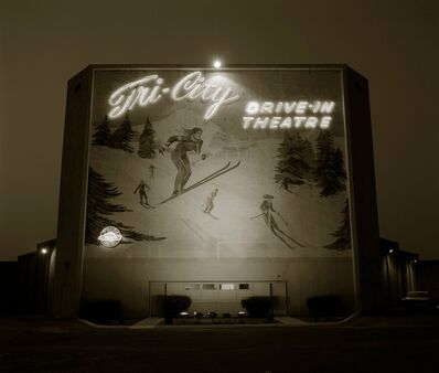 Steve Fitch, 'Drive-in theater, Highway I-10, Loma Linda, California; 1974', 1974