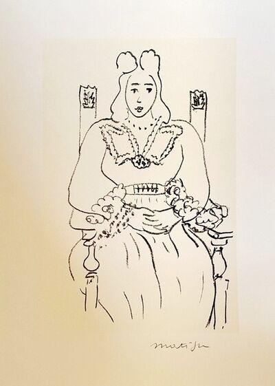 Henri Matisse, 'Etude pour poème de Charles d'Orléans, 1942-43', 1995