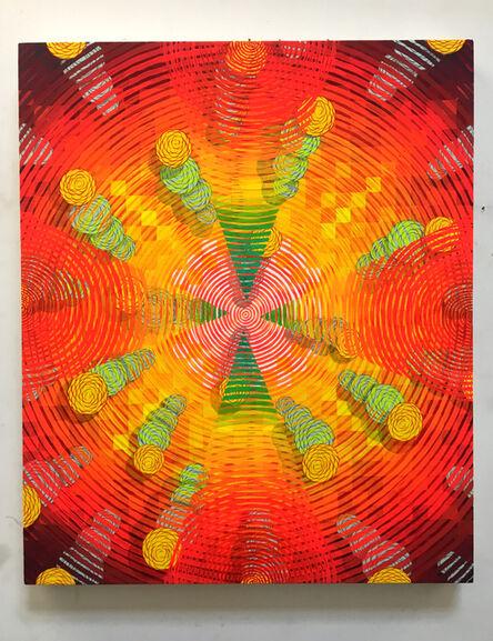 Andrew Schoultz, 'Digital explosion', 2003