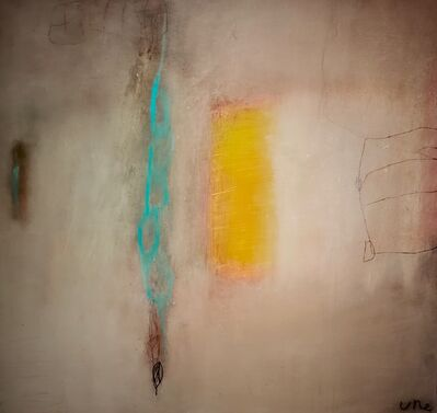 Ulla Neigenfind, 'Enigma: Grey, Turquoise, Red', 2015