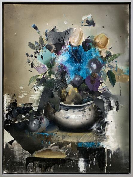 Florian Eymann, 'Fleur Bleu', 2019